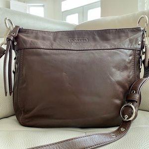 EUC COACH Brown bag
